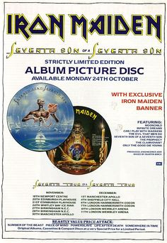 Seventh Son of a Seventh Son - Picture Disc (1988)