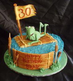 Kermit cake <3