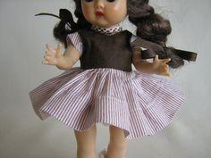 Vintage Nancy Ann MUFFIE Doll Dress by TheToyBox on Etsy, $30.00