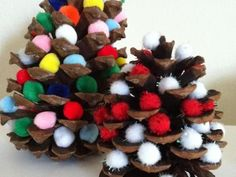 Pine Cone & Pom-Pom Christmas Trees | Kids Crafts & Activities for Children | Kiwi Crate