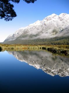 Mirror Lake by Stephanie Rosson, South Island of New Zealand