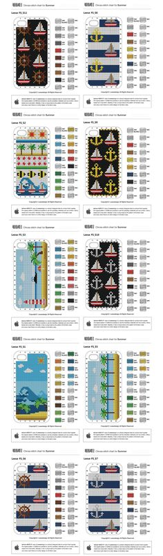 cross stitch your own iphone 4 case!