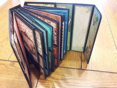 #papercraft #scrapbook #Mini Album Cookbook: Mariposa ~ DCWV ~ Mini Album