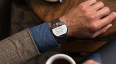 Google Wear for #smartwatch announced