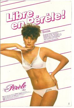 #vintage #ad #80s #lingerie
