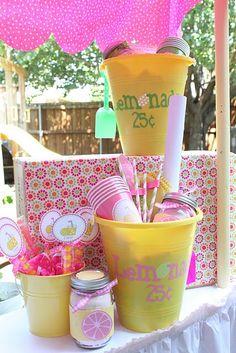 More ideas for lemonade stands