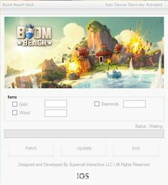Boom Beach Hack tool is available for Android & iOS. All files are protected by a new anti-virus system so that each user who downloads the hack could feel safe. Over the last few days has been testing the correct operation of a hack which was a success because the hack is working properly and you can already download it.