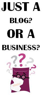 Blog or business? #blog #bloggingtips #blogtips #blogging