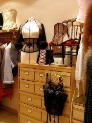 Louise Feuillère shop, Paris lingerie