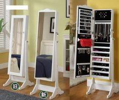 Full Length Mirror & Jewelery Box