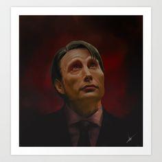 Hannibal Art Print by HYRenee - $14.00