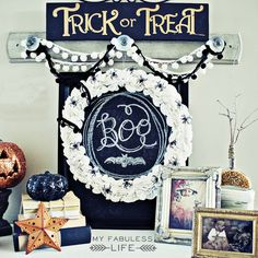 My Fabuless Life: Halloween Decor