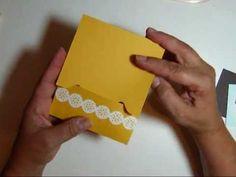 ▶ Envelope Punch Board Gift Card Holder - YouTube