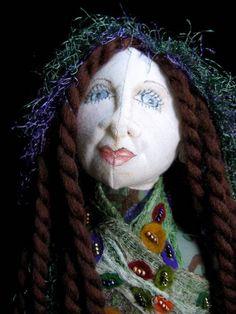 Niamh, OOAK Tree Elf Hand Crafted  Art Doll   Wyverndesigns - Dolls & Miniatures on ArtFire