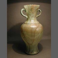 Large Murano glass vase. Italy. 1950 - 1955 / Gran florero de cristal de Murano. Italia. / Murano. Glasvase. Italien. 1950 - 1955.