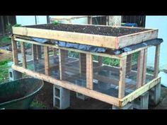 Building a Raised Bed Rabbit Hutch (Part 2)