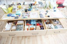 ali edward, office spaces, studio spaces, offic updat, craftroom, craft room, 2014 offic