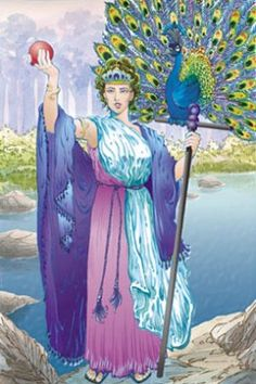 Hera, the Goddess of Marriage and wife of Zeus