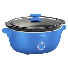 Bella Dots 6 Quart Slow Cooker - Teal Blue. Suggested Retail Price: $39.99 #BellaDots #BellaLife