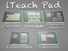 iPad app organizer for classrooms and teaching
