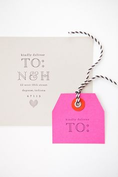 Save the Date Stamps | MaeMae Paperie