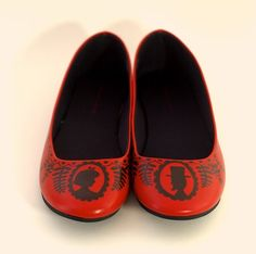 sharpie crafts, red shoes, sharpie projects, pattern design, black shoes, sharpie art, ballet flats, craft ideas, diy projects