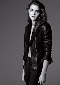 Bambi rocking the new Armani Jeans campaign for Fall/Winter 2012.