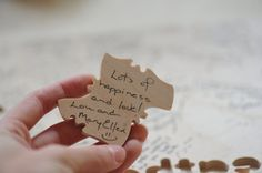 Puzzle guest book! why are there so many guest book ideas?!