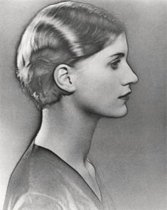 Man Ray: a solarized portrait of Lee Miller, 1930.