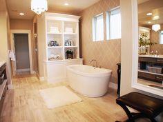 Contemporary | Bathrooms | DC Design House : Designer Portfolio : HGTV - Home & Garden Television