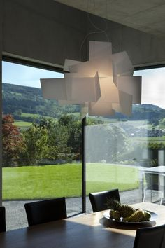 Two Single-Occupancy Detached Houses / L3P Architekten - Love the lamp!