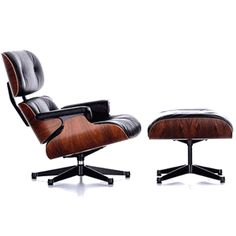 Eames Lounge Chair & Ottoman Replica, would love to own an original though.