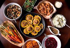 vegetarian thanksgiving menu... holy yummy!