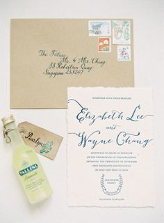 Elegant invitations: