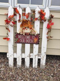 Part of my fall porch decor. Will complete the rest of it this weekend with my fun scarecrows and hay bales. Love this time of year!! :)