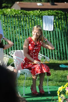 Kelly Ripa at the White House Easter Egg Roll 2011