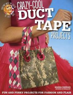 FaveCrafts Giveaway:  Crazy Cool Duct Tape Projects.  Contest ends January 15th!