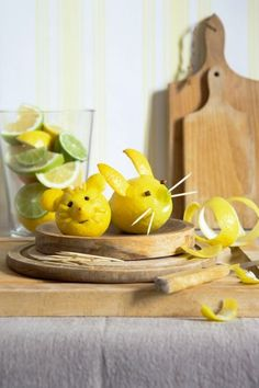 when life gives you lemons, carve out a mouse
