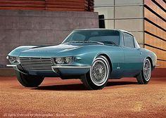 1963 pininfarina corvette!