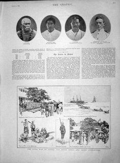 1899 Civil War Samoa Mataafa Tanu Tamases Gaunt