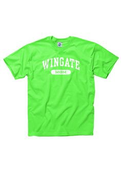 Lime Green Mom Tee. $12.95.  Order now & ship today! Call 704-233-8025.
