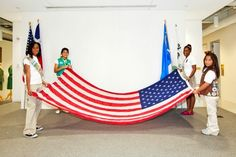 Flag Day etiquette for Girl Scouts