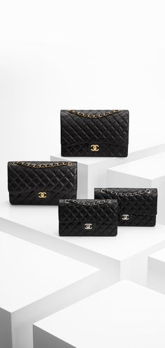 Classic flap bag in quilted lambskin.<br... - CHANEL