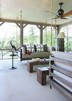 porch swings that actually look comfy