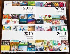 Annual photo book