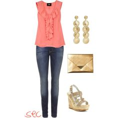Even more gold, created by coombsie24 on Polyvore