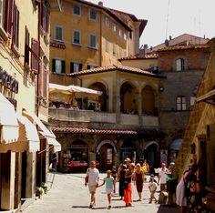 Piazza of Cortona, Tuscany