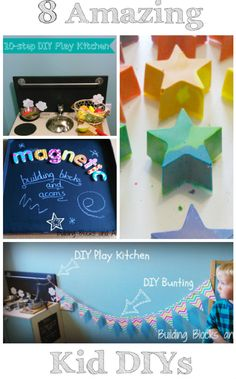 8 Amazing DIY projects to make fun for kids!