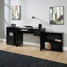 Mainstays 3-Piece Office Set, Black
