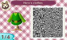 Hero's clothes, Link